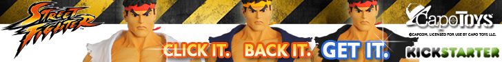 Support The Street Fighter™ Articulated Ryu Action Figures Project at Kickstarter!